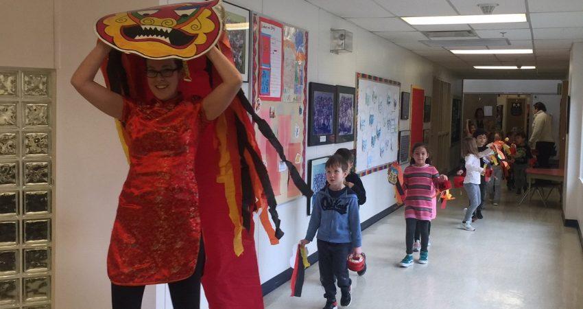 Dragon Parade for Gung Hay Fat Choy